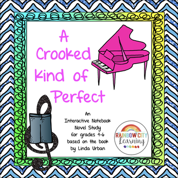 A Crooked Kind of Perfect Novel Unit for Interactive Notebooks