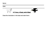 A Crow, a goat, and a boat Decodable