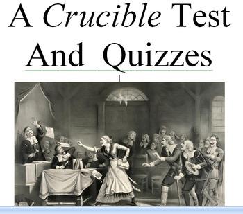 The crucible test teaching resources teachers pay teachers a crucible test and quizzes a crucible test and quizzes fandeluxe Choice Image