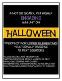 Halloween Upper Grade Activites