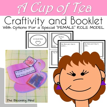 Mother's Day Card  {A Cup of Tea for Mommy and Me Craft}
