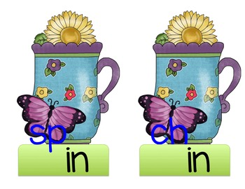 "A Cup of ""short i""  CVC Words"