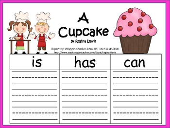 A+  Cupcake: Graphic Organizers