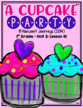 A Cupcake Party: First Grade - Journeys Supplemental Resources #10