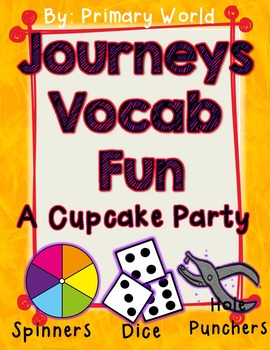A Cupcake Party Journeys First Grade Unit 2 Lesson 10 Vocabulary