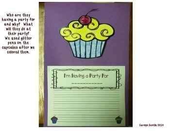 A Cupcake Party Journeys Unit 2 Lesson 10  First Grade Supplement Activities