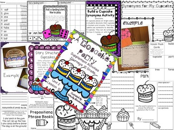 A Cupcake Party Supplement Activities Journeys 1st Grade Lesson 10