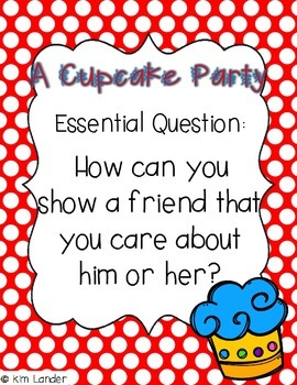 A Cupcake Party Lesson Plans and Supplemental Materials