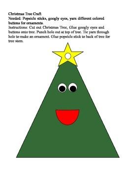 A Cute Christmas Tree Craft
