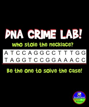 DNA Crime Lab! Can you solve the case?