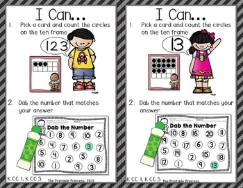 A Dab of Learning {Bingo Dabber Alphabet & Number Recognition Activities}