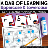 Alphabet Centers: Letter Recognition Uppercase and Lowercase