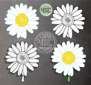 A Daisy Freebie {Messare Clips and Design}