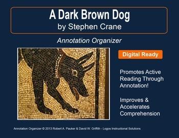 """""""A Dark Brown Dog"""" by Stephen Crane: Annotation Organizer"""