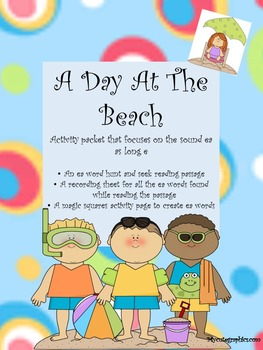 A Day At The Beach - A focus on vowel team ea