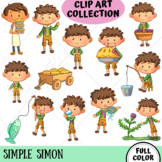 Simple Simon Clip Art Collection (FULL COLOR ONLY)