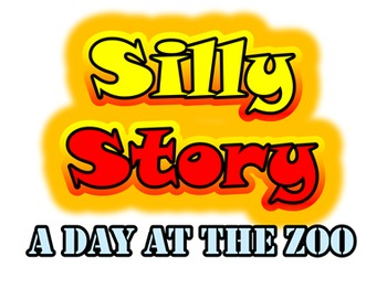 A Day At The Zoo: Listening Dictation And Silly Story (Mad