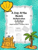 A Day At the Beach: Multiplication Activities