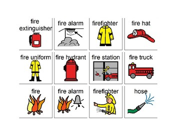 A Day With Firefighters Question Book