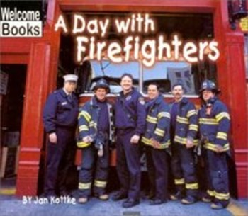 A Day With Firefighters - Story Visuals [speech therapy and autism]