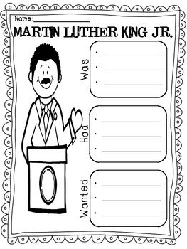 A Day With MLK {Social Studies Mini-Unit}