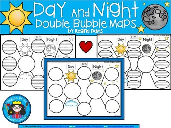 A+ Day and Night:  Double Bubble Maps