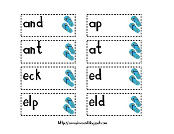 A Day at The Beach: A Short and Long Vowel Activity Packet