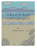 A Day at the Beach- An Absolute Value Activity