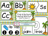 A Day at the Beach Summer MEGA Literacy Pack ~ ABC, Syllab