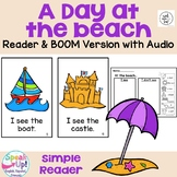 A Day at the Beach Reader for summer + BOOM™ Version with Audio