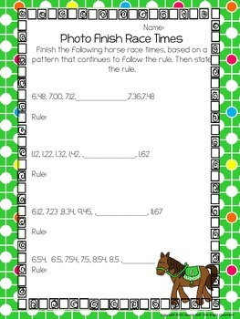 And They're Off: A Horse Racing Mini Unit {Common Core Aligned: 4th-5th Grade}