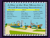 A Day at the Fair Food Poisoning Simulation Lab