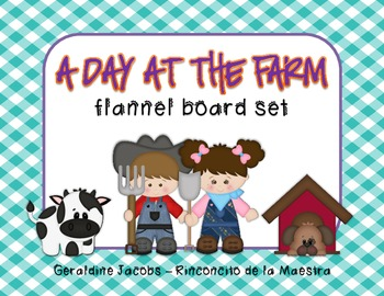 A Day at the Farm Flannel Board Set