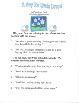 The Water Cycle: A Play