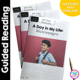 A Day in My Life: Montenegro- Differentiated Guided Reading (Text Features)