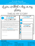 A Day in My Shoes - Writing Activity