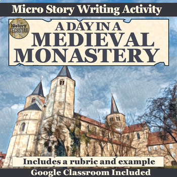Medieval Europe Monastery Short Story Writing Activity