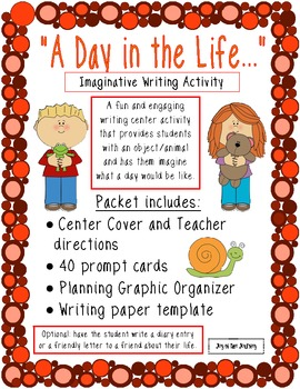 """""""A Day in the Life"""" Imaginative Writing Activity"""