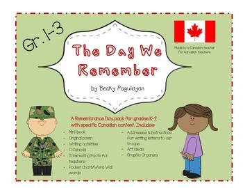 Canadian Remembrance Day - The Day We Remember
