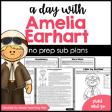 A Day with Amelia Earhart Mini Unit