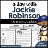 A Day with Jackie Robinson Mini-Unit   Distance Learning