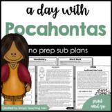 A Day with Pocahontas Mini-Unit