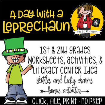 A Day with a Leprechaun {St. Patrick's Day}