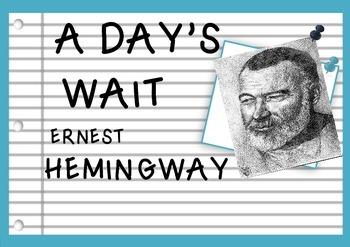 A Day's Wait - Ernest Hemingway