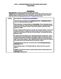 A Day's Work 5 Day Common Core Unit with Standards Based A
