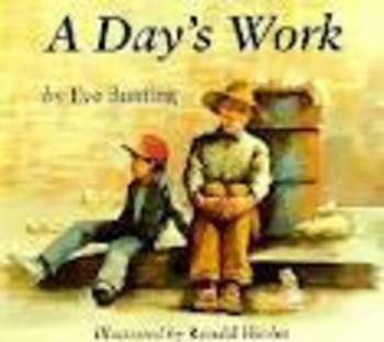 A Day's Work Vocabulary SMART Board activity Reading Streets 3rd grade