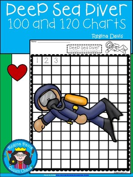 A+ Deep Sea Diver: Numbers 100 and 120 Chart