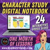 A Deep Study of Character: Digital Interactive Notebook (G