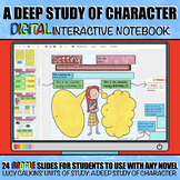 A Deep Study of Character: Digital Interactive Notebook (G