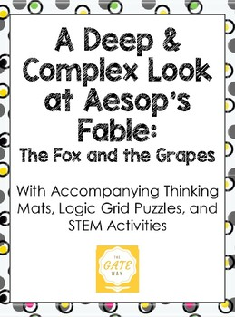 A Deep and Complex Look at the Aesop's Fable: The Fox and the Grapes